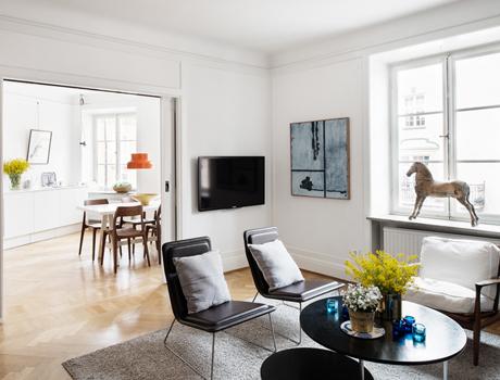 Styling Rådmansgatan – 4 rum 98 kvm